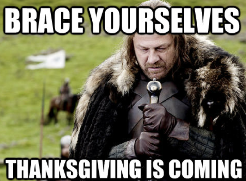 thanksgiving is coming